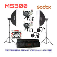 Paket Godox MS300 B2L Flash Strobe Studio 300 Lighting Foto Light lamp