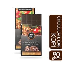 WoCA Premium Chocolate Bar - Cokelat Batang Rasa Kopi - 90 gram