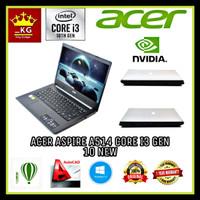 Laptop Acer A514 Intel Core i3 Gen 10 Ram 4gb Hdd 1TB VGA Nvidia 2 GB