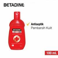 Betadine sabun cair antiseptik 100ml