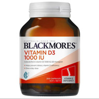 Blackmores vitamin D3 1000iu 200 caps