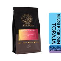 ARUTALA Kopi Toraja Rantebua Robusta Coffee 500 Gram