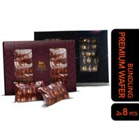 WoCA Wafer Coklat Premium PAKET - Dark dan Milk Chocolate