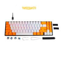 Rexus DAXA M71 PRO Wireless Bluetooth Mechanical Keyboard - Putih - Biru