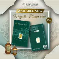Logam Mulia 0,5 gram King Halim