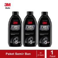 Paket 3 Botol - 3M 79042 Tire Restorer 350 ml. (Semir Ban 3M)