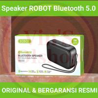 Speaker Bluetooth Robot RB100 new Speaker bluetooth 5.0 Robot Resmi