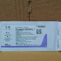 VICRYL 5-0 W9501 reverse cuting