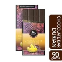 WoCA Coklat Durian Premium Chocolate 90 gram