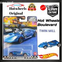 Hotwheels Diecast Twin Mill Premium Series Hot Wheels Boulevard