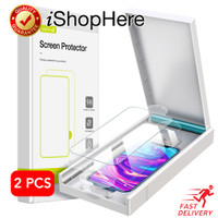 2 buah EasyInstall HD Tempered Glass Anti Gores iPhone 12 Mini Pro Max