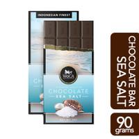 WoCA Coklat SeaSalt Premium Chocolate 90 gram