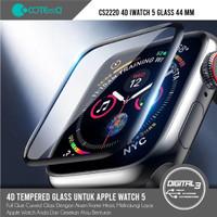 COTEetCI CS2220 Apple Watch 5 Full Tempered Glass 44mm Screen Guard