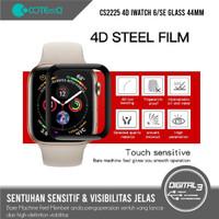 COTEetCI CS2225 Apple Watch 6 SE Full Tempered Glass 44mm Screen Guard