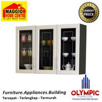 Kitchen Set - Rak Dapur - Lemari Piring - Mutiara Set - Olympic