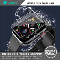 COTEetCI CS2220 Apple Watch 5 Full Tempered Glass 40mm Screen Guard