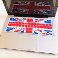 Keyboard MacBook Silicone Cover Motif Air Pro Retina 2009-2017