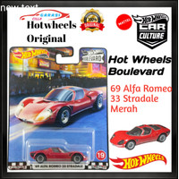 Hotwheels 69 Alfa Romeo 33 Stradale Premium Series Hot Wheels Boulevad