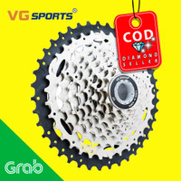 Gigi Sprocket Sepeda Aluminium Round Ultralight 9 Speed 11-40T - VG72