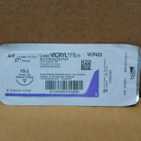VICRYL Plus 4-0 reverse cuting VCP422