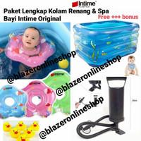Paket Lengkap Kolam Renang Jumbo Bayi Baby spa Intime Bonus