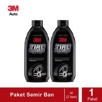 Paket 2 Botol - 3M 79042 Tire Restorer 350 ml. (Semir Ban 3M)