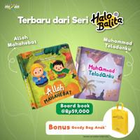 PAKET MUHAMAD TELADANKU+ALLAH MAHA HEBAT BB+GOODIE BAG