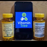 Puritan's Pride Vitamin D3 1000 IU - 200 Softgels Puritan D3 1000IU