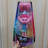 boneka Trolls world tour stylin Poppy fashion doll