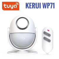 KERUI Alarm Sensor Gerak WP71 120db Anti Maling Smart life - Tuya