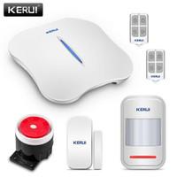 KERUI Alarm System W1 W10 PSTN WIFI IOS Androit Alarm Rumah Kantor
