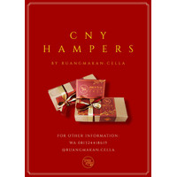 Hampers Imlek 2021 Brownies / Pie Brownies Parcel Chinese New Year CNY