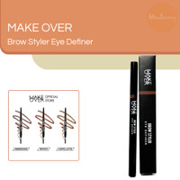 Pensil Alis MAKE OVER Brow Styler Eye Definer