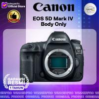 Canon EOS 5D Mark IV Body Only resmi canon