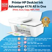 Printer HP 4176 Print Scan Copy WiFi FAX Cartridge HP 682 Black Color