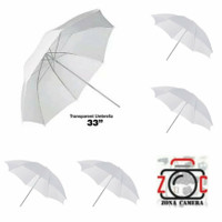 Paket 5 Payung Putih Studio Umbrella White Flash Lighting Diffuser Ref