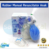 Ambubag Rubber anak child RS 2603 MPM / Resuscitator set