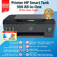 Printer HP Smart Tank 500 Print Scan Copy 4SR29A Tinta HP GT53 GT52