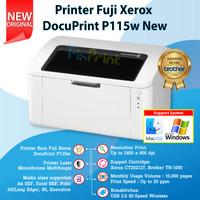 Printer Fuji Xerox P115w DocuPrint Laserjet P115W Monochrome Wireless