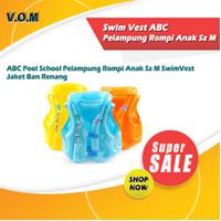 0333 Swim Vest ABC Pelampung Rompi Anak Sz M Jaket Ban Renang - Kuning