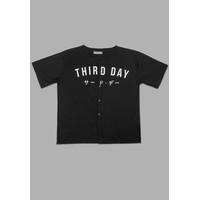 Third Day MT748P s/s Men BaseBall Trdday hitam
