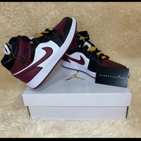 "Nike Air Jordan 1 Mid ""Beetroot"" ORIGINAL - US 7,5W/EU 38,5"