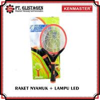 Raket Nyamuk Mosquito Killer Recharge Senter Magic Blue LED Kenmaster