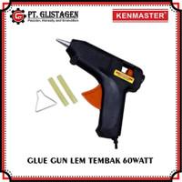 Glue Gun Alat Lem Tembak Cepat Panas 60 Watt Bonus isi Lem Tembak 2Pcs