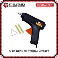 Glue Gun Alat Lem Tembak Cepat Panas 40 Watt Bonus isi Lem Tembak 2Pcs
