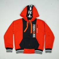 "Jaket Anak Unisex Baby Air 8522 "" THIS IS ME "" Orange"