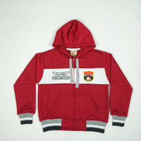 """Jaket Anak Unisex Baby Air 8528 """"FIRE AND RESCUE """" Maroon"""
