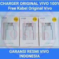 Vivo Original Charger 18w /Fast Charger Vivo Garansi Resmi