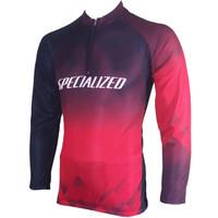 baju kaos jersey sepeda specialized baru-kaos balap sepeda - L