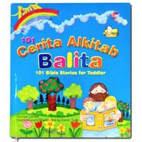Buku 101 Cerita Alkitab Balita Bible Stories for Toodlers Bergambar